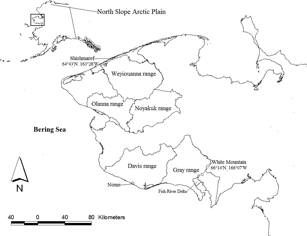 Landscape Variation in the Diet and Productivity of Reindeer in