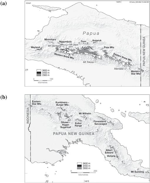 The Sensitivity Of The High Mountain Ecosystems Of New Guinea To