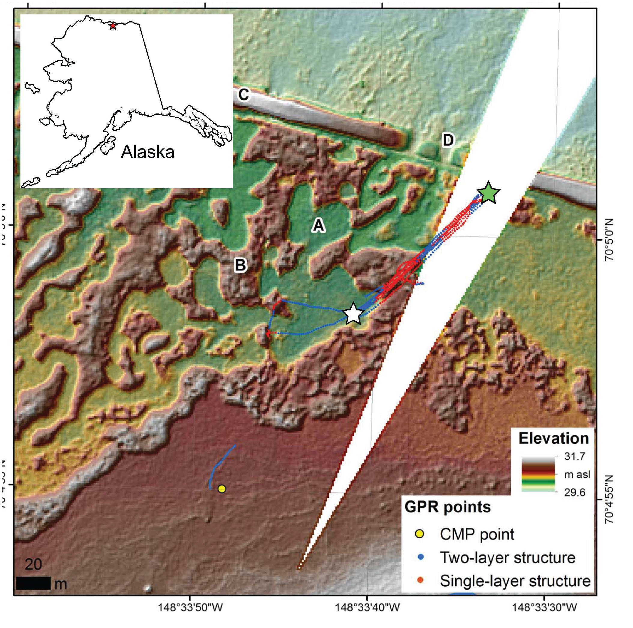 Active Layer Stratigraphy and Organic Layer Thickness at a ...