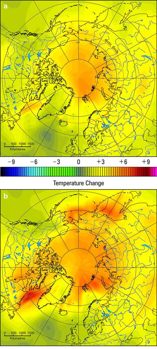Climate Change Effects on Hydroecology of Arctic Freshwater