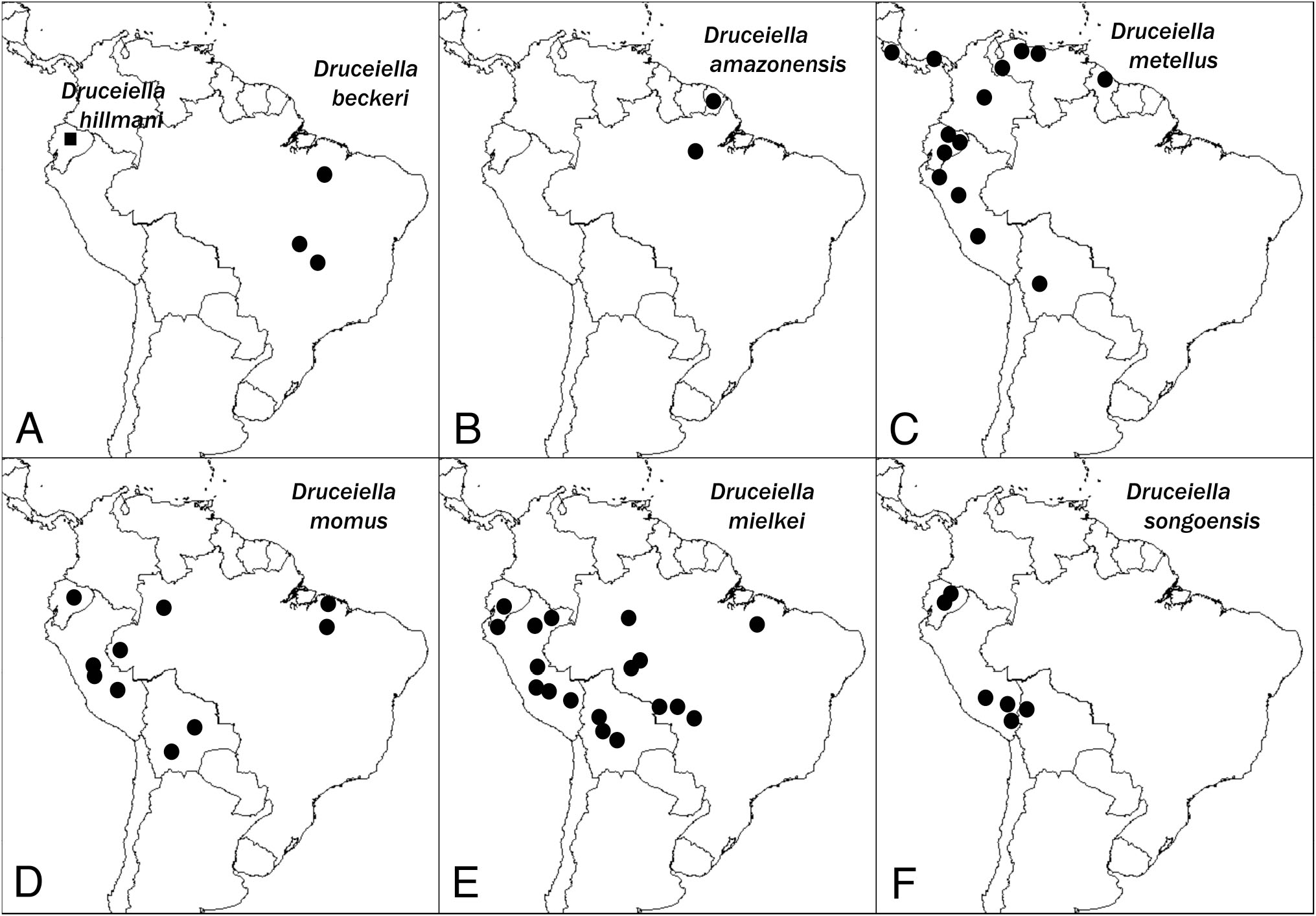 Taxonomic Revision and Vicariance Biogeography of the Central and