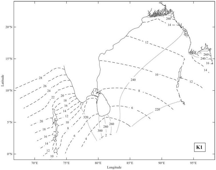 Study Of The Tide And Tidal Currents In The Bay Of Bengal Based On