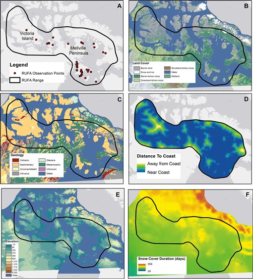 Mapping and modeling the breeding habitat of the Western