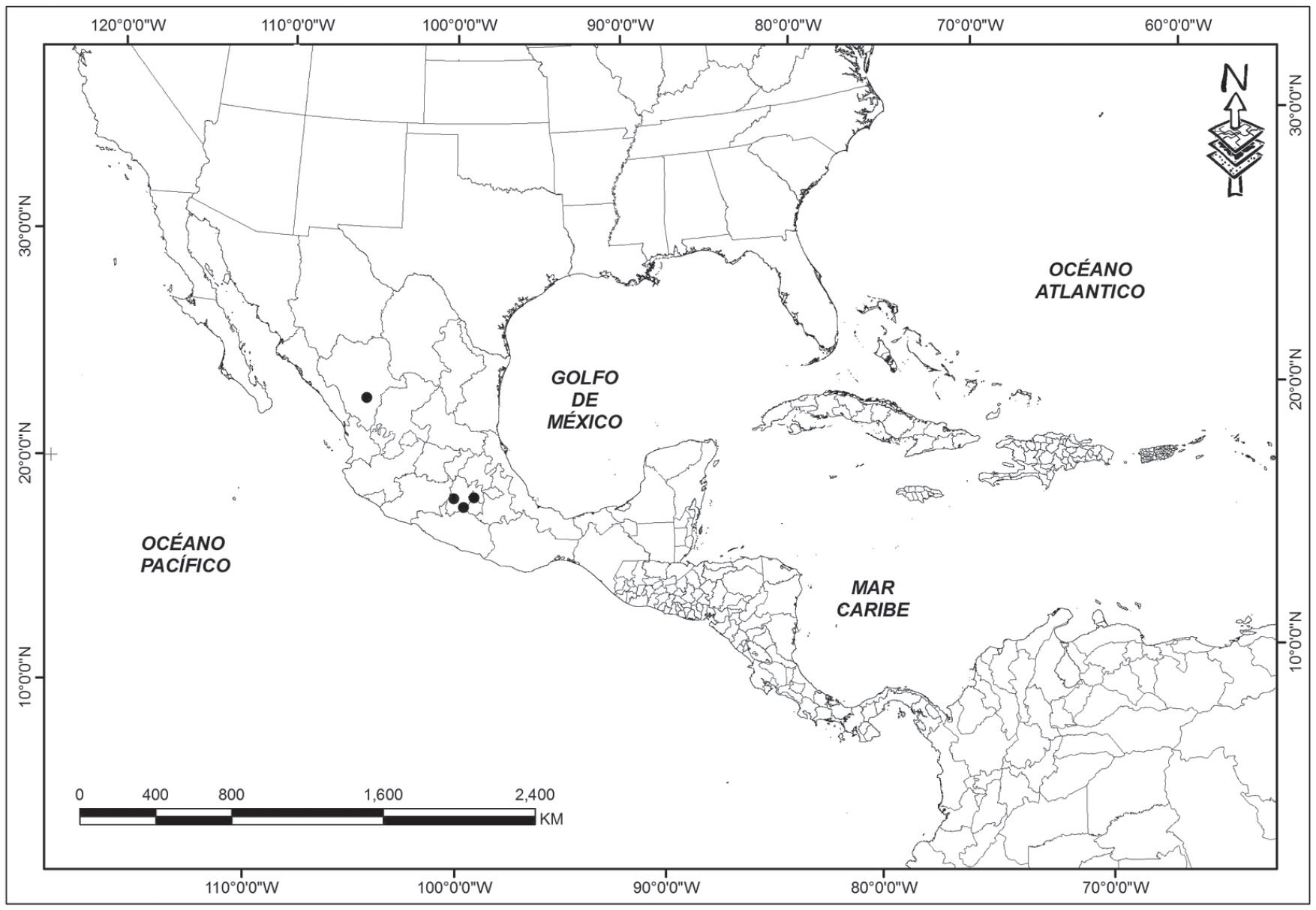 Geographic Distribution and Conservation of Cyanopepla griseldis