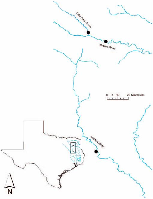 Verification of Two Cyprinid Host Fishes for the Texas