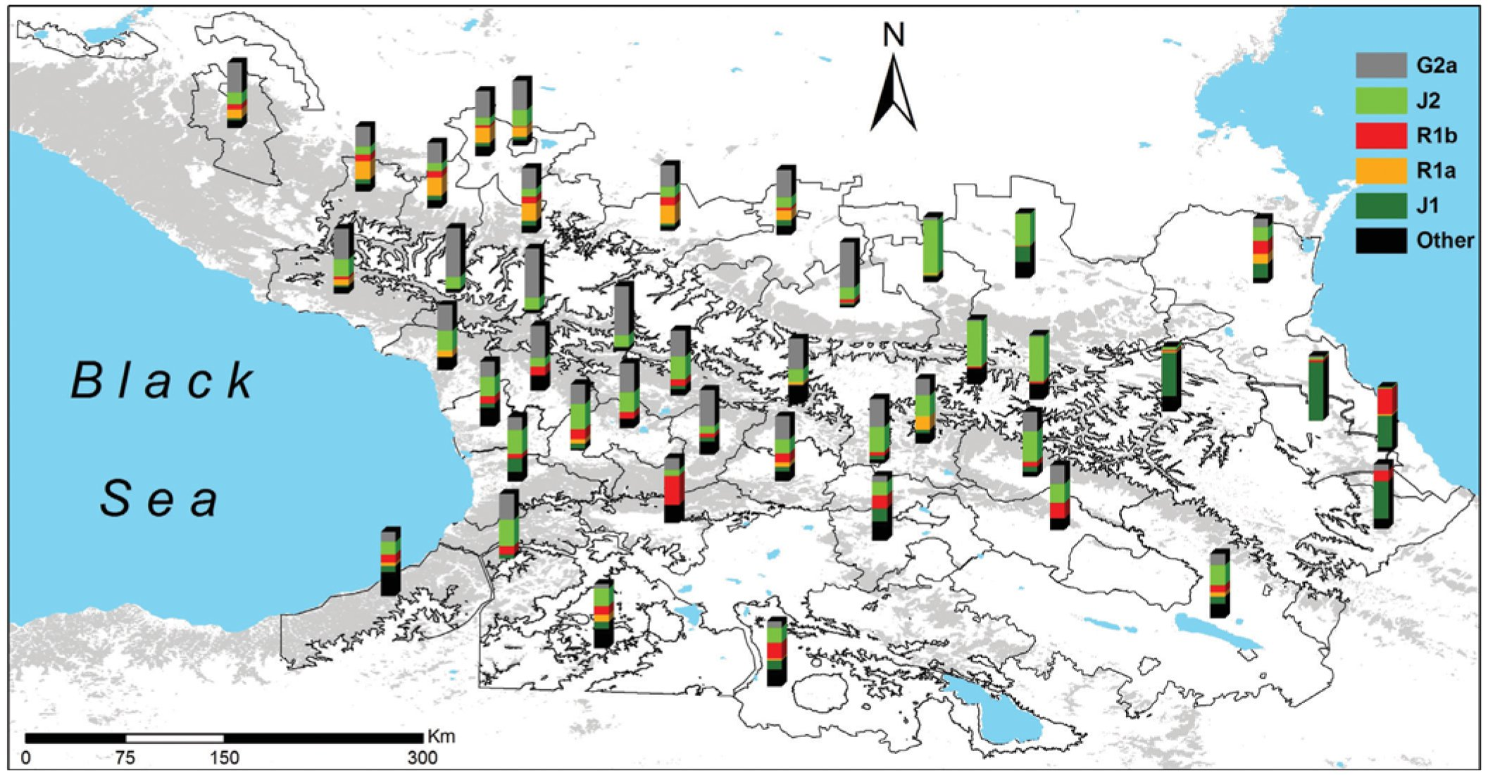 Human Paternal Lineages, Languages, and Environment in the Caucasus