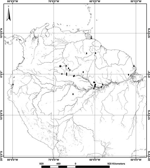 First Report Of Peridiscaceae For The Vascular Flora Of Colombia