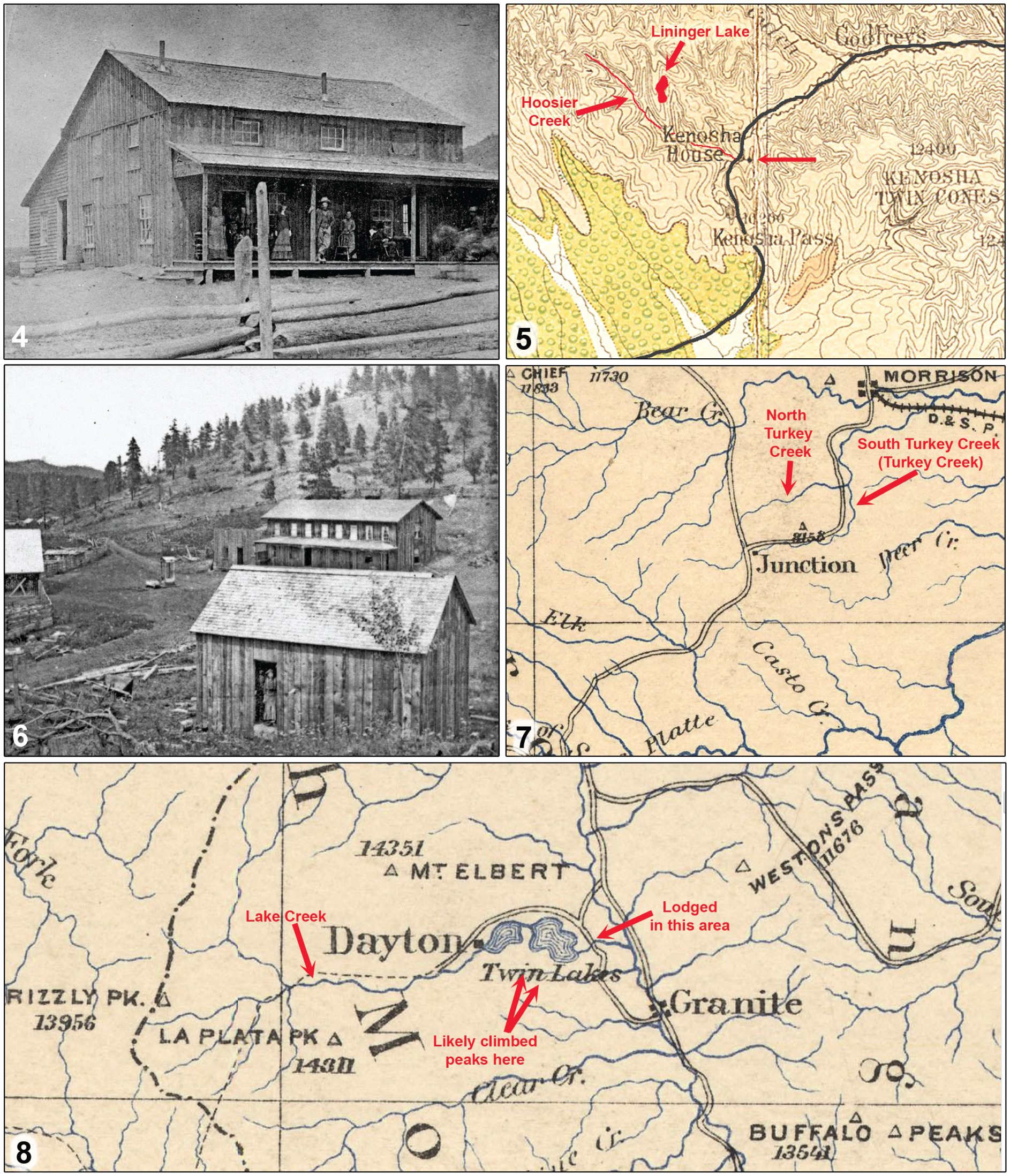 An Updated Itinerary of Theodore L  Mead in Colorado in 1871
