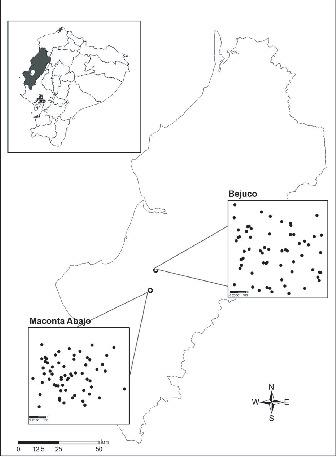 Microdistribution Of Sylvatic Triatomine Populations In Central
