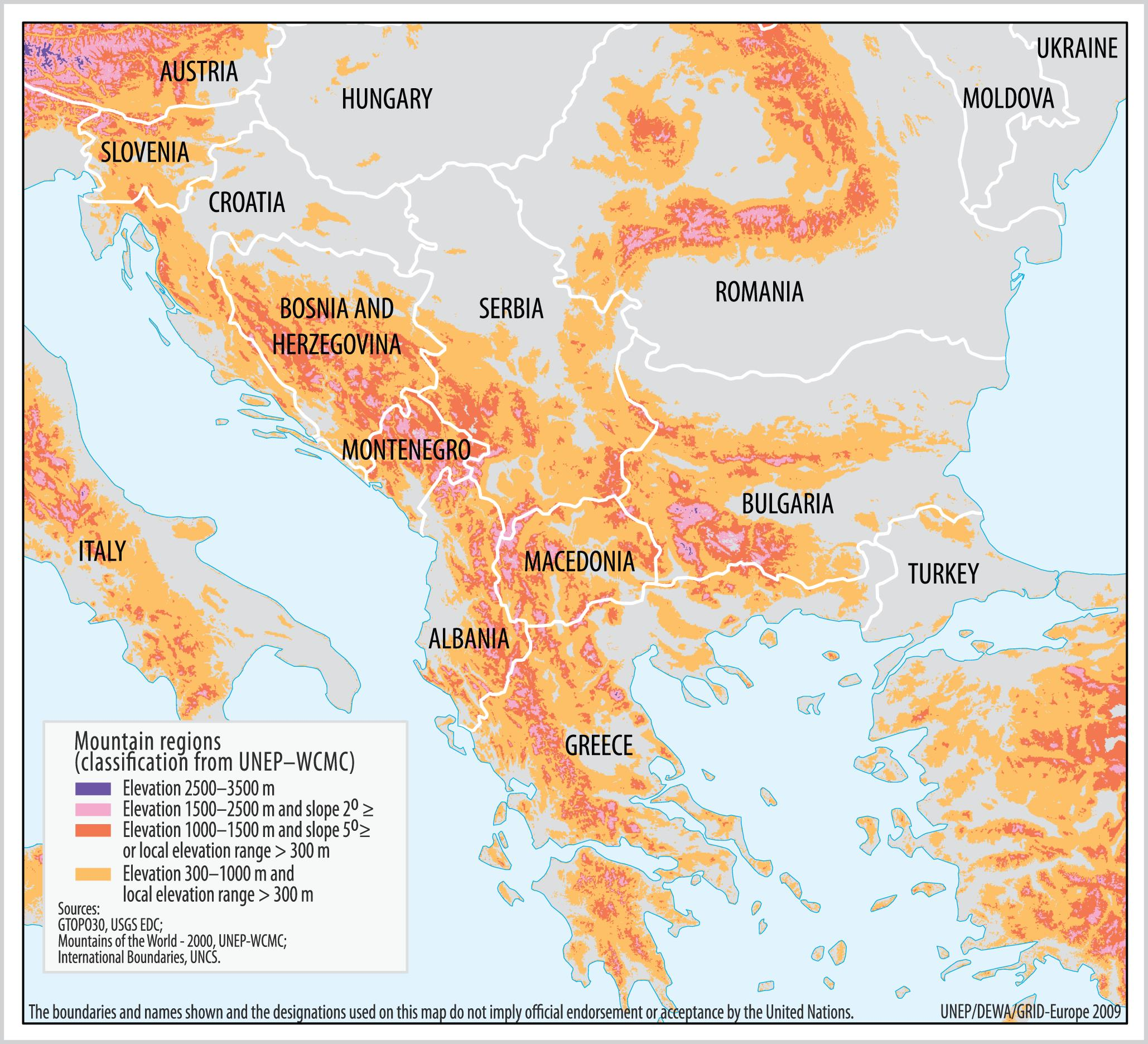 International Agreements And Region Building In The Mountains Of South East Europe