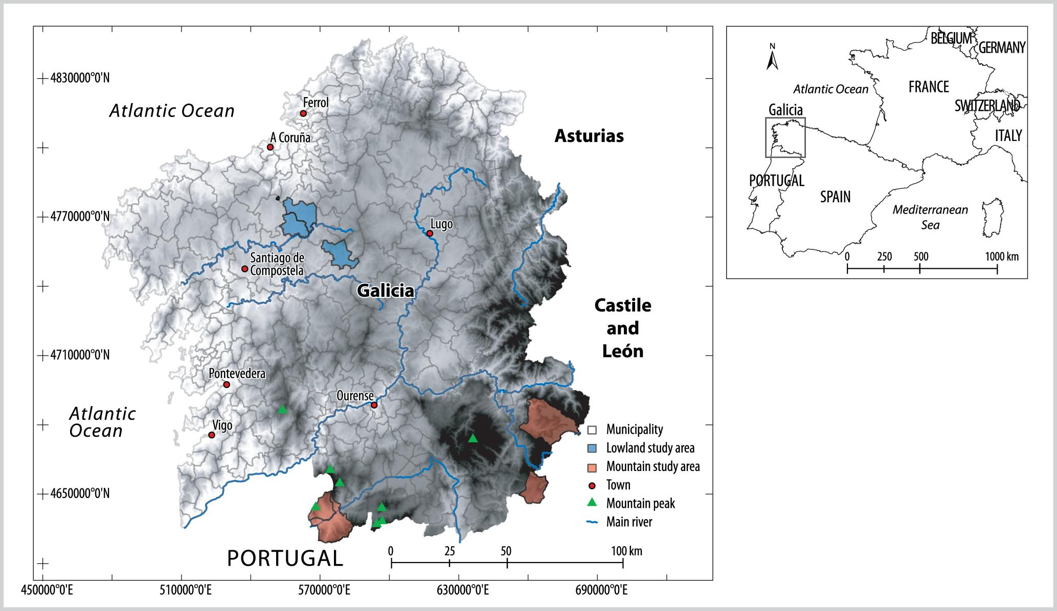 Mountain Family Farms in Galicia, Spain: Challenges and