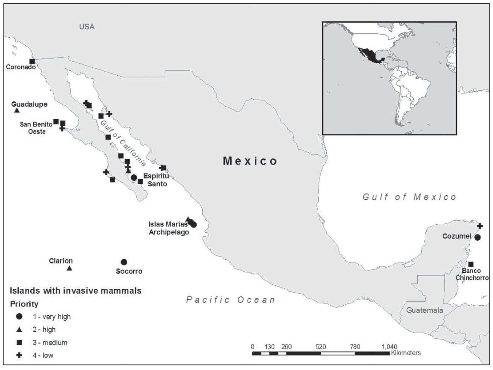 Prioritizing Restoration Actions for the Islands of Mexico