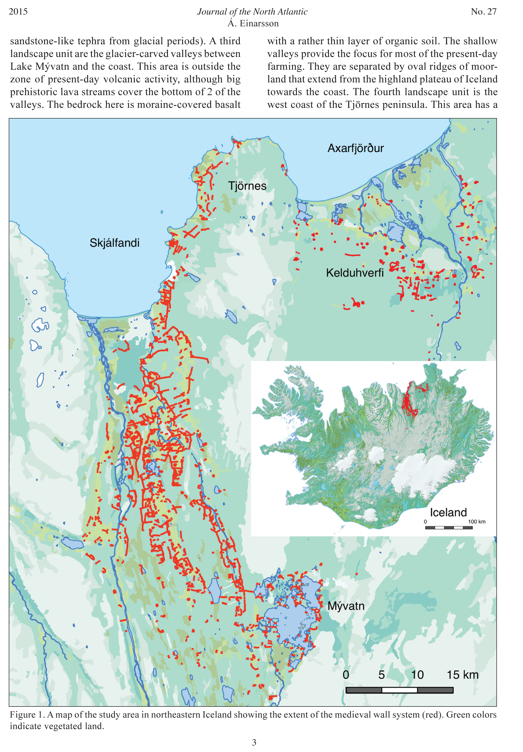 Viking Age Fences and Early Settlement Dynamics in Iceland