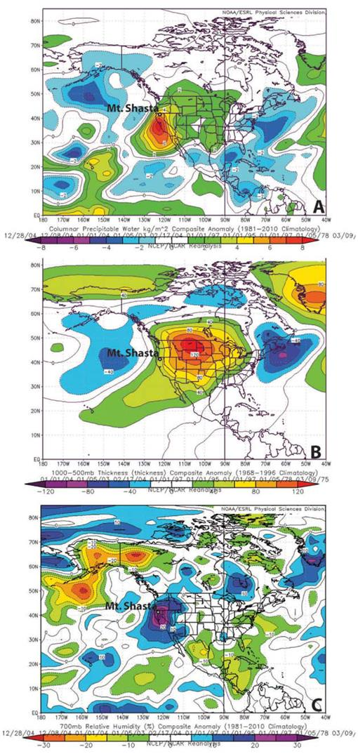 Synoptic Scale Weather Patterns and Size-5 Avalanches on Mt