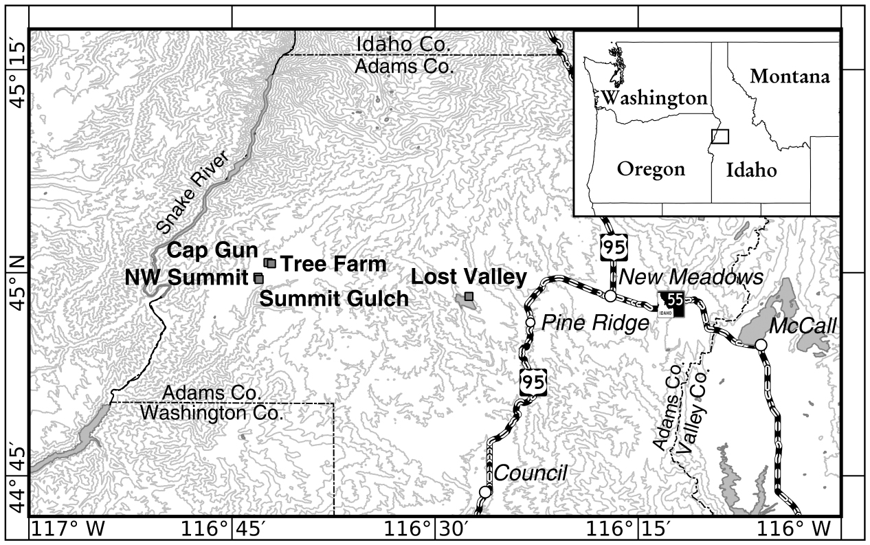 Forbs Dominate Diets of the Threatened Endemic Northern Idaho Ground ...