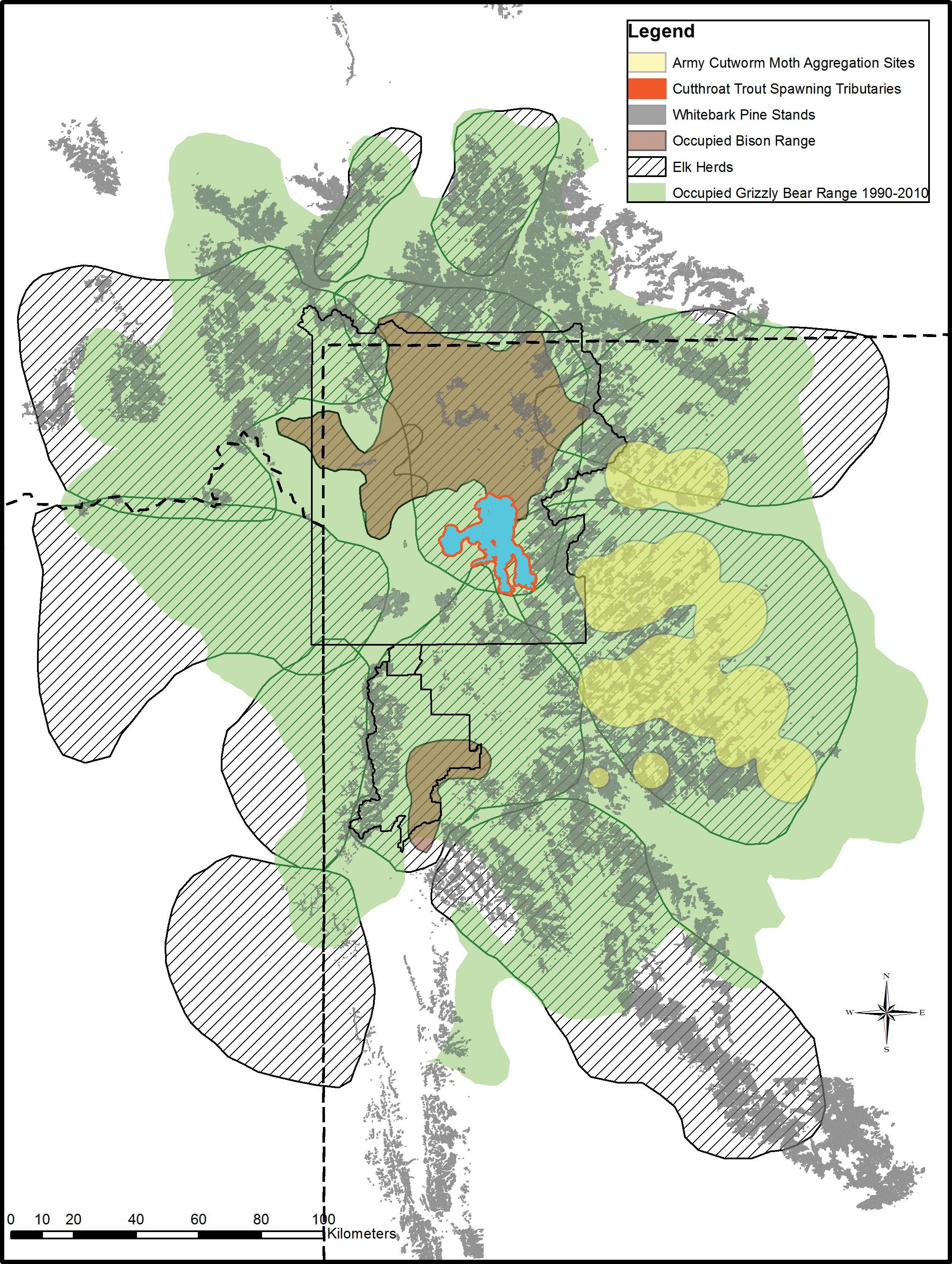 Dietary breadth of grizzly bears in the Greater Yellowstone Ecosystem