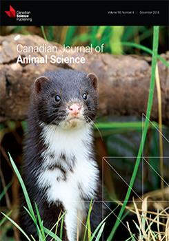 Volume 98 Issue 4 | Canadian Journal of Animal Science