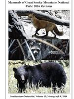 Mammals of Great Smoky Mountains National Park: 2016 Revision