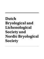Dutch Bryological and Lichenological Society and Nordic Bryological Society Logo